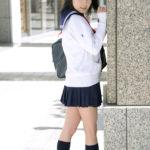 女子高生が制服で卑猥なボディを見せてくれる画像で今からオナニーしてくる[23枚]