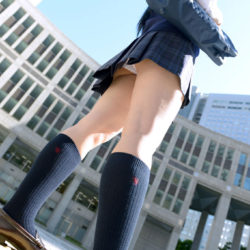 "<span class=""title"">結構可愛い女子高コス娘が制服姿でエッチな格好になってる画像をうp[23枚]</span>"