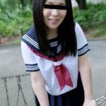 黒髪の女子●生が制服でHな事してくれる画像でシコろうか[26枚]