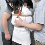 可愛い女子高コス美女が制服で緊縛されて何度も調教されてイカされちゃう画像って、なんでこんなエロいんだ?[22枚]