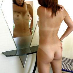 日焼け後が妙にそそる美人がエロエロになってる画像がマジエロ過ぎ[37枚]