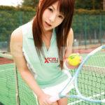 ギャルがテニスウェアでHな事してくれる画像で抜いてみた[24枚]