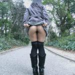 女の子がストッキングでノーパンになってる画像をじっくり楽しむスレ[27枚]