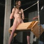 エロいカラダしたお姉さんが三角木馬でSM調教される画像、勃起まで6秒ですわ[29枚]