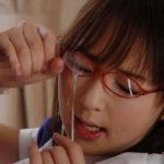 真面目そうな眼鏡娘がドバッと顔射された画像[26枚]