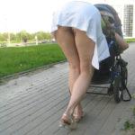 エッチな外人美女が街でスカートの中ノーパンになってる隠し撮り画像の破壊力高すぎwwww[30枚]